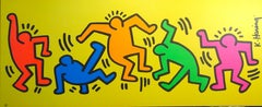 Figures - Keith Haring - Serigraph - Contemporary