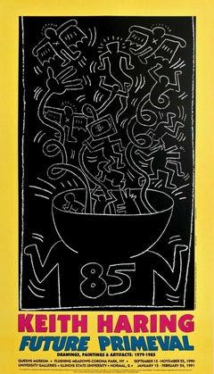 Future Primeval, 1990 Exhibition Offset Lithograph