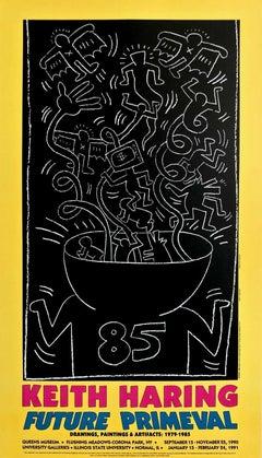 Future Primeval, 1990 Queens Museum Exhibition Poster