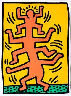 Growing I, Keith Haring