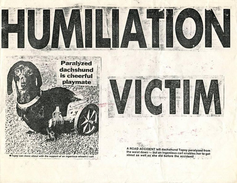 Humiliation Victim - Print by Keith Haring