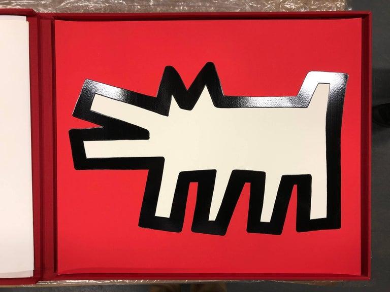 Icons portfolio (5 pieces)  - Print by Keith Haring
