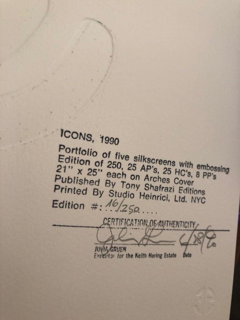 Icons portfolio (5 pieces)  For Sale 1