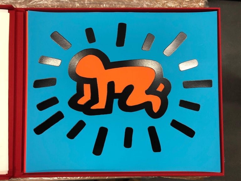 Keith Haring Figurative Print - Icons portfolio (5 pieces)