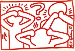 Keith Haring Act Up 1989 mailer (Keith Haring activist)