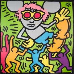 Keith Haring-Andy Mouse