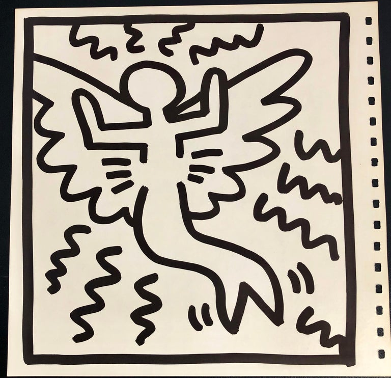 Keith Haring barking dog lithograph 1982 (Haring untitled barking dog)  For Sale 2