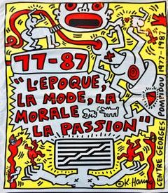 Keith Haring Pompidou Paris 1987