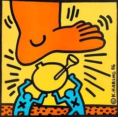 Keith Haring Crack Down! (Keith Haring 1986)