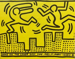 Keith Haring Dance on the Lower East Side (announcement)