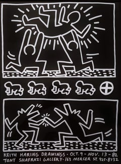 Keith Haring Drawings (Tony Shafrazi Gallery)