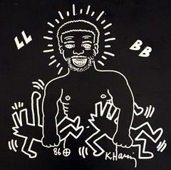 Keith Haring for Paradise Garage 1986 (Keith Haring, Larry Levan)
