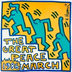 Keith Haring Great Peace March (Keith Haring prints)