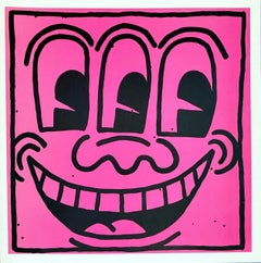 Keith Haring 'Important Early Works from the Estate' (Keith Haring poster card)