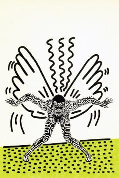 Keith Haring Into 84 (Keith Haring Bill T. Jones announcement)