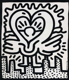 Keith Haring Kutztown Connection 1984