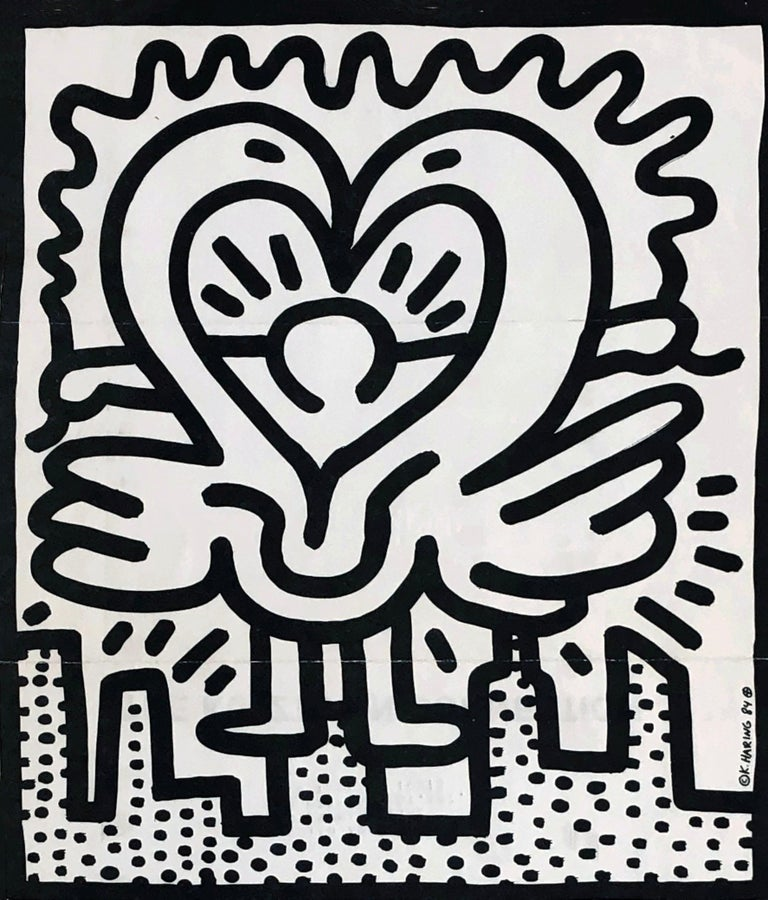 Keith Haring Kutztown Connection 1984  - Print by Keith Haring