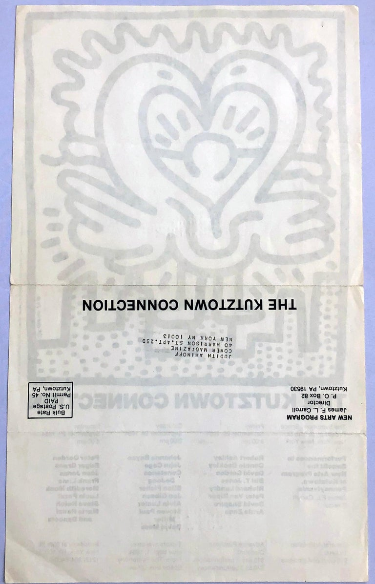 Keith Haring Kutztown Connection 1984  For Sale 1