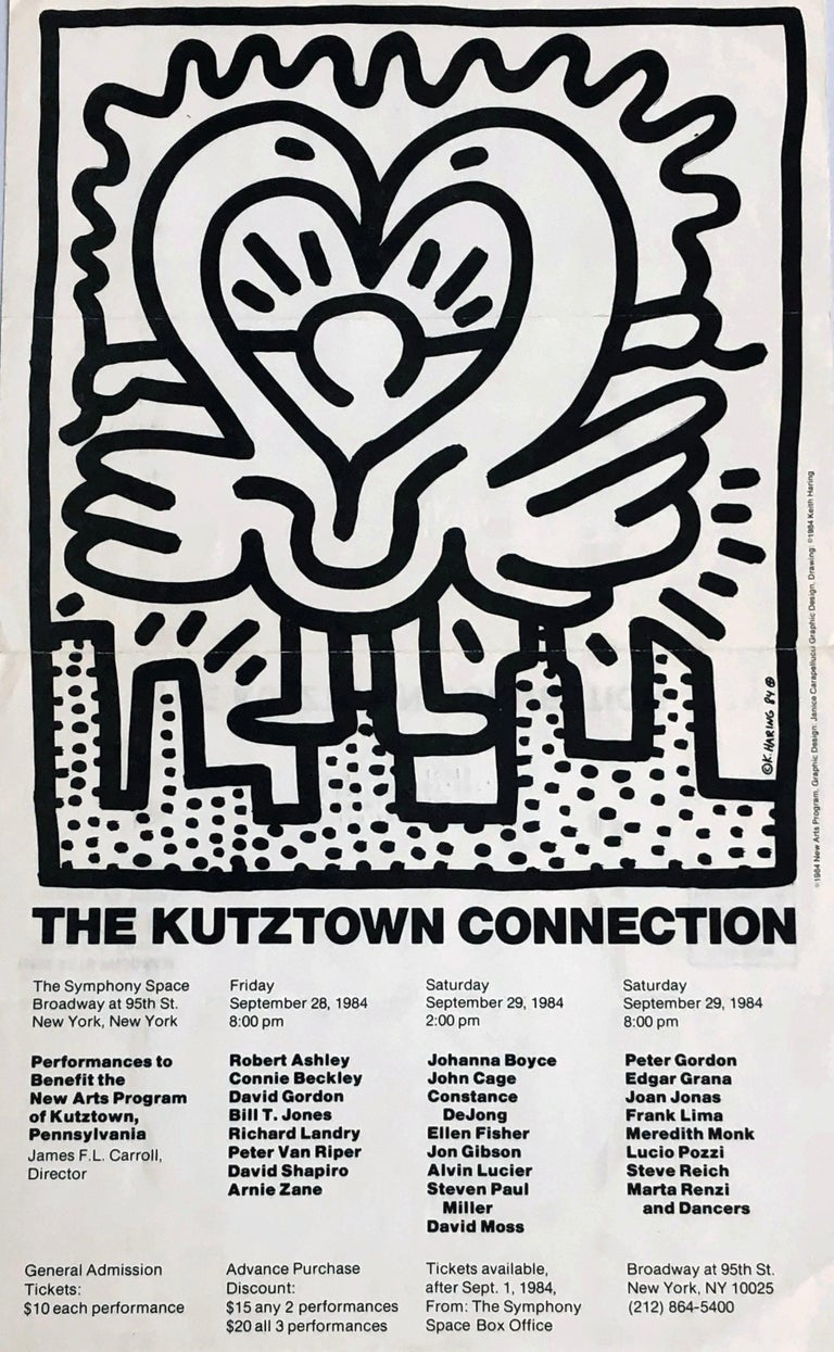 Keith Haring Kutztown Connection 1984  - Pop Art Print by Keith Haring
