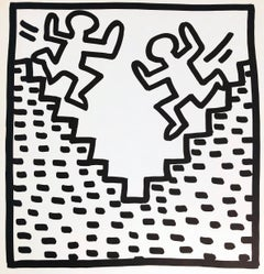 Keith Haring lithograph 1982