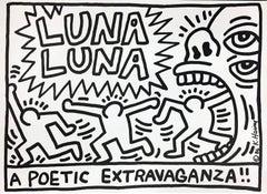 Keith Haring Luna Luna A Poetic Extravaganza (Keith Haring prints posters)