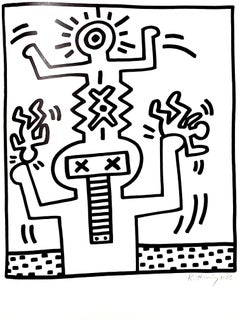 Keith Haring - Signed and Numbered Original Lithograph