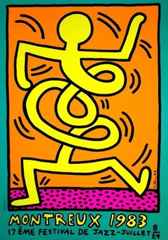 Montreux Jazz Festival (green), Keith Haring
