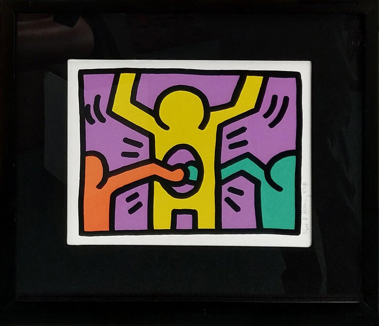 POP SHOP I (1) - Print by Keith Haring