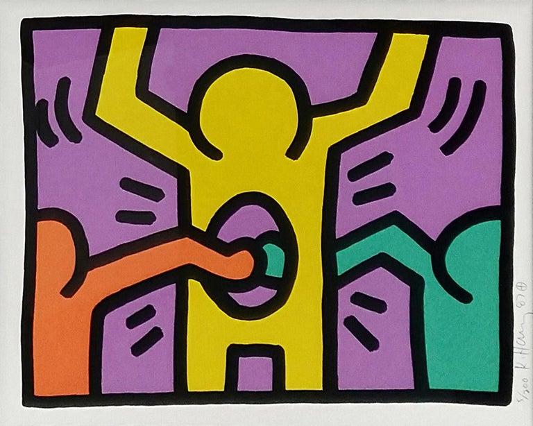 Keith Haring Figurative Print - POP SHOP I (1)