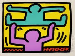 Pop Shop I: One Plate - Pop Art, Screenprint, Keith Haring, Contemporary Art