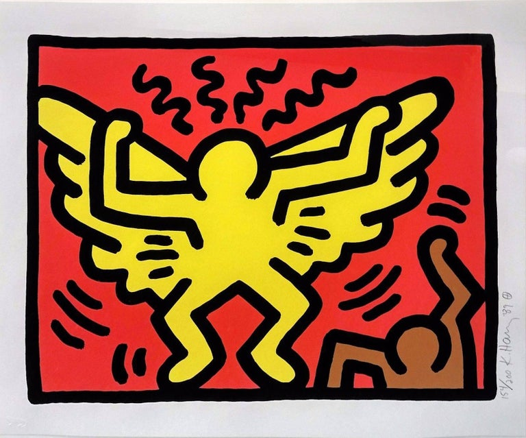 POP SHOP IV(1) - Print by Keith Haring