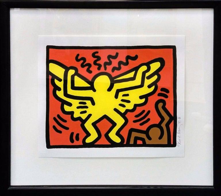 Keith Haring Portrait Print - POP SHOP IV(1)