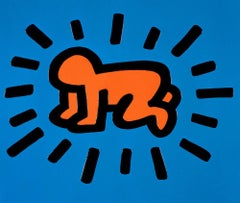Radiant Baby, Keith Haring