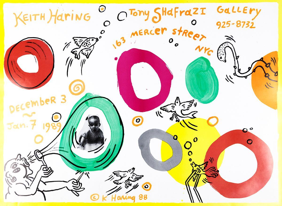 Tony Shafrazi Exhibition Poster