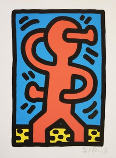 Untitled - Pop Art, Lithograph, Contemporary Art, Keith Haring, Street Art