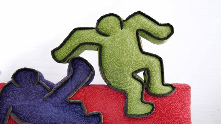 Keith Haring Sofa by Bretz 2002 Pop Art 3