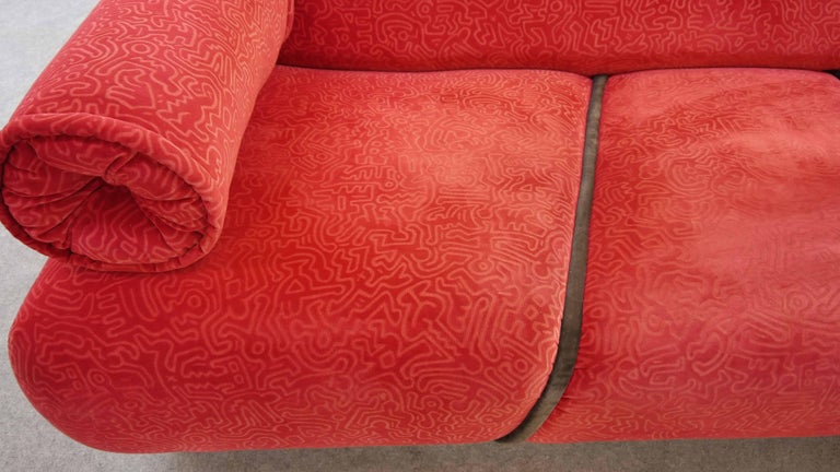 Keith Haring Sofa by Bretz 2002 Pop Art 4