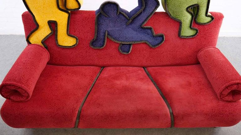 Keith Haring Sofa by Bretz 2002 Pop Art 7
