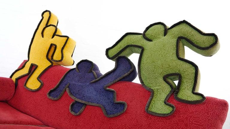 Keith Haring Sofa by Bretz 2002 Pop Art 13