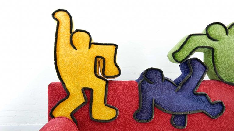 Keith Haring Sofa by Bretz 2002 Pop Art 1