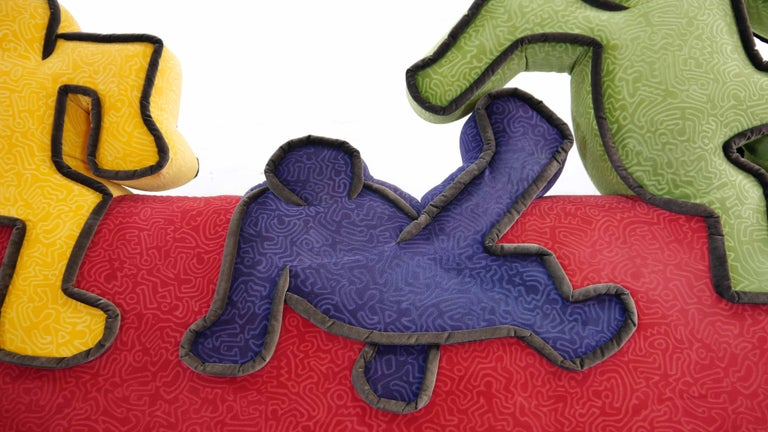 Keith Haring Sofa by Bretz 2002 Pop Art 2