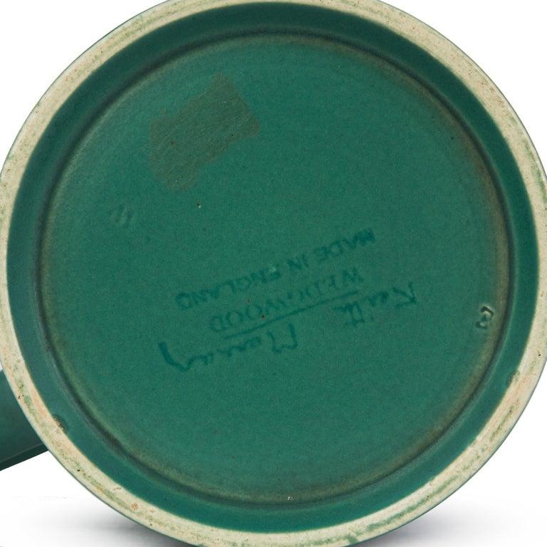 Keith Murray for Wedgwood Iconic Green Art Deco Mug, circa 1935 1