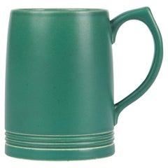 Keith Murray for Wedgwood Iconic Green Art Deco Mug, circa 1935