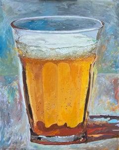 Light/Beer, Original Painting