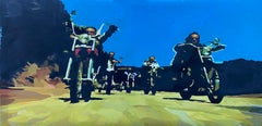 Not a Scout Troop, Original Painting