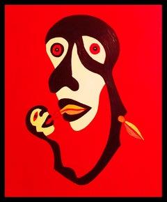 French Contemporary Art by KEJ - La Mère et L'enfant