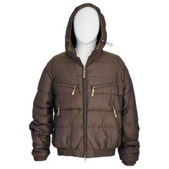 Kejo brown bomber jacket
