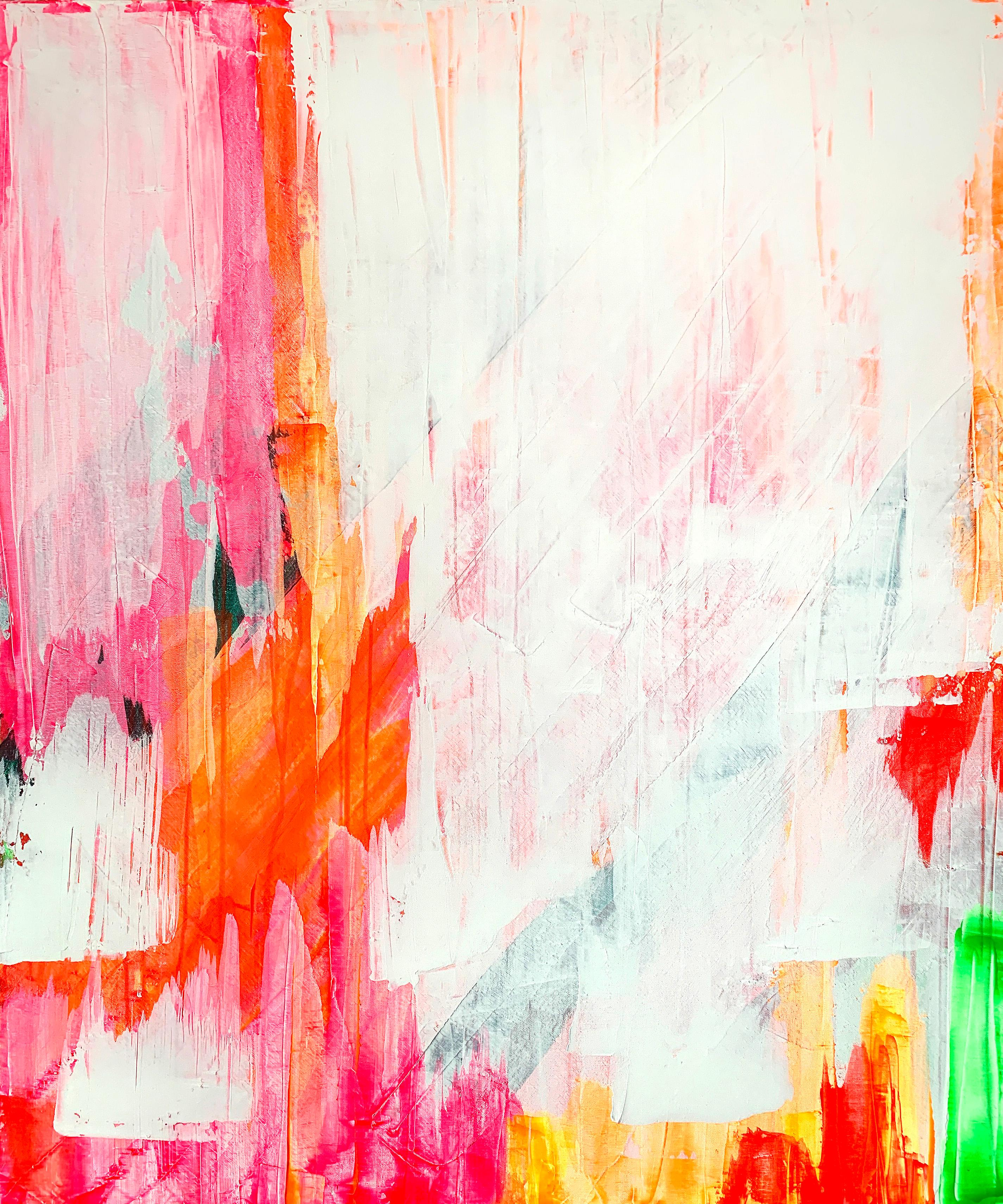 Untitled Colour Study No. 1, Acrylic on canvas, 120 x 100 cm, 2020