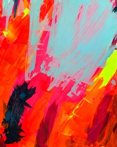 Untitled Colour Study No. 2, Acrylic on canvas, 100 x 80 cm, 2020
