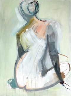 After All by Kelley Ogburn, Mixed Media Vertical Contemporary Nude Painting
